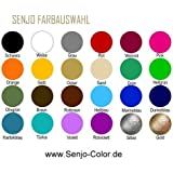 Senjo Color - Pintura para aerógrafo para body paint, 75 ml negro