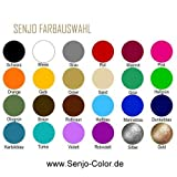 Senjo Color Farbe für Airbrush für Body Paint, 75ml Schwarz
