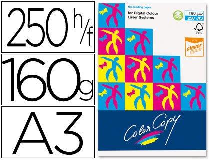 Color Copy A3-7268 - Papel para impresora láser (A3, 250 hojas, 160 g/m²)