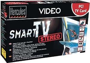 Hercules-Hercules Carte Smart TV Stereo PCI - NEUF