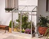 Chalet-Jardin 12Gewächshaus Reihen 24Veranda-Garten Polycarbonat transparent 129x 68x 165cm