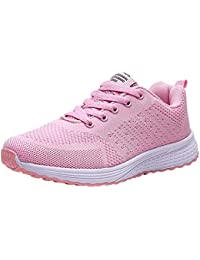 Soldes Femme Basket Mode Chaussures de Sports Course Sneakers Fitness Gym athlétique Multisports Outdoor Casual Multicolore Respirante