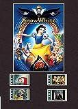 Générique Blanche-Neige et Les Sept Nains Style de pellicule écran 8x 6montée 4cellules, Encadré, 10x8