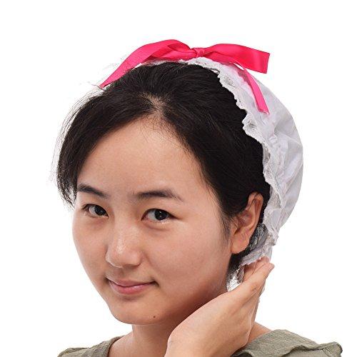GRACEART Damen Haube Motorhaube Kostümzubehör 100% Baumwolle (4 Stile Option) (Stil-3)