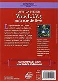 Image de Virus L.I.V.3 ou la mort des livres