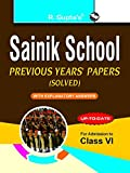 #6: Sainik School: Previous Years Papers with Explanatory Answers (Solved for Class VI)