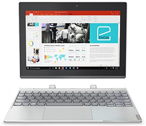 3201.44GHz x5-z835010.11280x 800pixel Touch Screen 4G Platin, Silber Hybrid (2in 1) (Lenovo Platin)