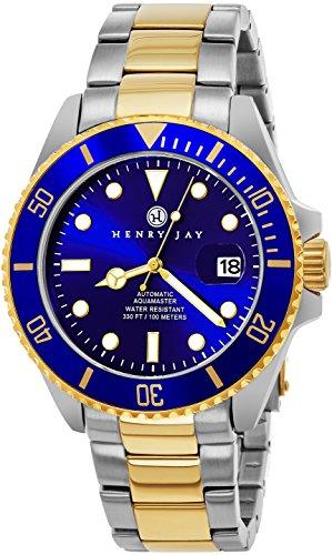 henry-jay-para-hombre-self-bobinado-mecanico-automatico-edicion-limitada-23-k-oro-chapado-en-acero-i