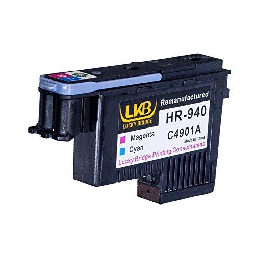 Neue Kompatible Pigment (Lucky Brücke HP940Druckkopf 1magenta und cyan C4901A wiederaufbereitete kompatible für HP Officejet mit Pro 800085008500A 8500A Plus 8500A Premium)