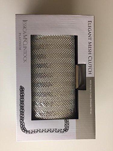 jessica-mcclintock-platium-elegant-mesh-clutch-silver-aluminium-mesh-gift-box-with-drop-in-chain-sho