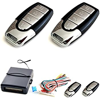 100F07 - Sistema remoto de coches Cierre centralizado de bloqueo sin llave con los reguladores alejados