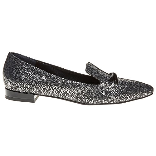Emporio Armani Pointed Slipper Damen Schuhe Metallisch Metallisch