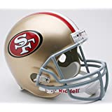 Riddell - Réplica a tamaño real de casco de los San Francisco 49ers