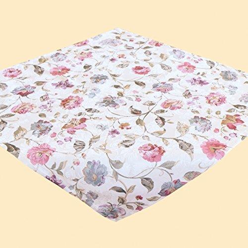 Kamaca Serie Beautiful Flowers in Creme mit zarten Pastelltönen Markenqualität hoher Baumwolle...