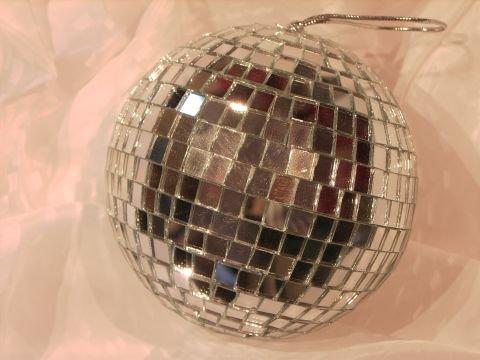 13 cm Discokugel 70er Jahre Style