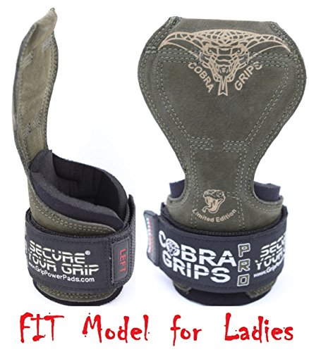 Grip Power Pads Cobra empuñaduras Levantamiento Pesas