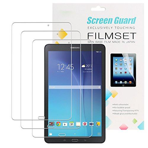 3 x EnGive Displayschutzfolie Samsung Galaxy Tab E 9.6 Schutzfolie Folie (Tab E 9.6) -