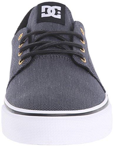 DC Trase TX Se M Shoe LGR, Sneakers da Uomo Black/Gunmetal/White