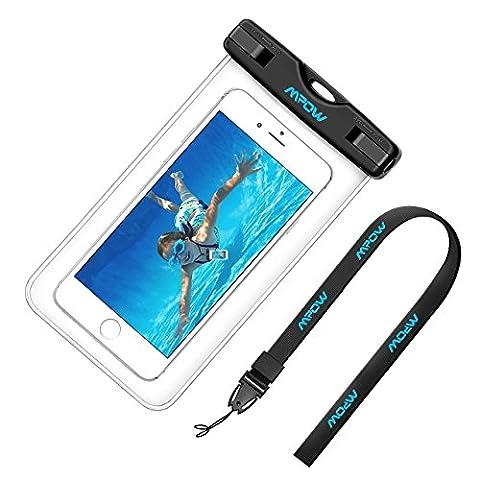 Étanche Certifiée IPX8, Pochette téléphone étanche Mpow Waterproof, Housse telephone universelle (6
