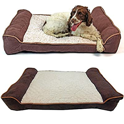 Deluxe Orthopaedic Soft Dog / Pet Pillow Sofa Bed in 2 Sizes