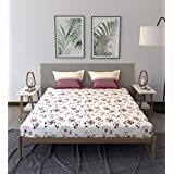 Trident Comfort Living 100% Cotton Double Bedsheet with 2 Pillow Covers Melina Pink