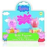 IMC Toys - Peppa Pig pack de 2 muñecos para baño (360082)
