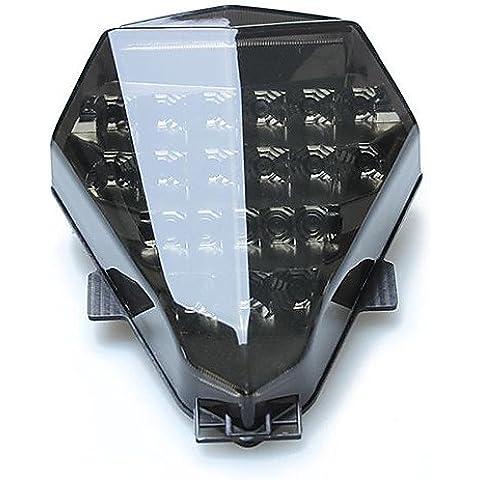 DZXGJ® integrada llevó la luz de la cola secuencial señal para Yamaha YZF R6 2.006-2007 humo ,