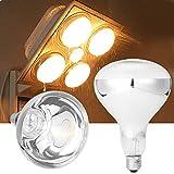 MASUNN E27 275W Infrarotwärme Lampe Für Deckenventilator Badezimmer Heizung Ac220V