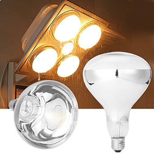 ILS - E27 275W Infrarot-Wärme Lampe für Deckenabzugshaube Badheizer AC220V
