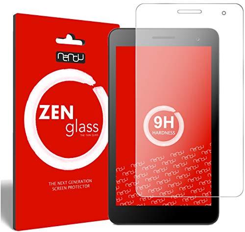 nandu I ZenGlass Flexible Glas-Folie für Huawei Mediapad T1 7.0 Panzerfolie I Bildschirm-Schutzfolie 9H