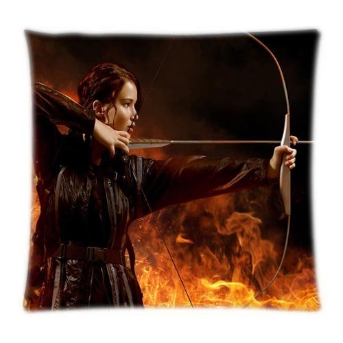 Alexander Custom novela Jennifer Lawrence en los Juegos del Hambre diseño de Minion de dos tamaño comodidad fundas de almohada