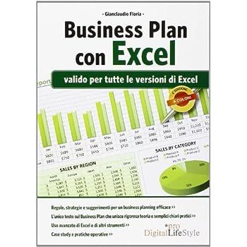 Business Plan Con Excel. Valido Per Tutte Le Versioni Di Excel