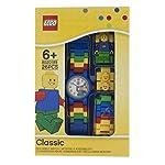 LEGO-Classic-8020189-Orologio-da-polso-componibile-per-bambini-con-cinturino-a-maglie-e-minifigure