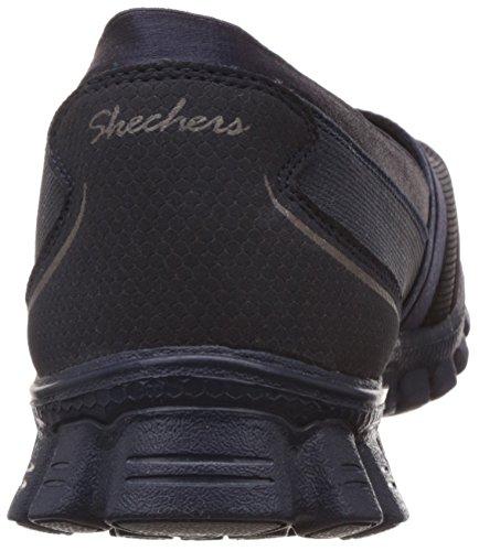 Skechers Ez Flex 2 Quipster, Baskets Basses Femme Navy