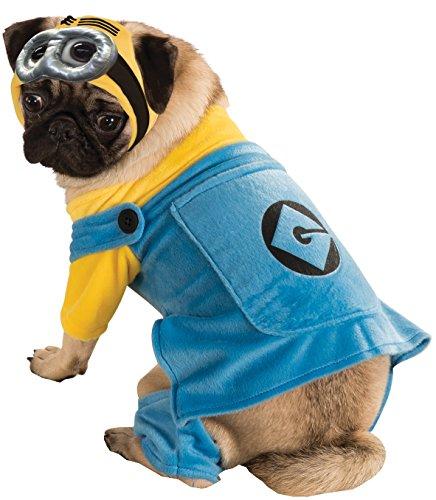 Minions Despicable Kostüm Me - Despicable Me 2 Haustierkostüm Minion, M, blau