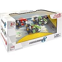 Pull&Speed 15813010, Nintendo Mario Kart 8, 3 Vehículos (Mario, Luigi y Yoshi), 13 x 15 x 26 cm