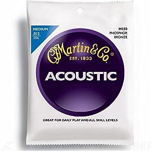 Martin 92/8 Acoustic Guitar Strings – Phosphor Bronze Wound (Medium.013 – .056)
