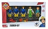 Simba 109251034 - Feuerwehrmann Sam Spielfiguren 5er Set Vergleich