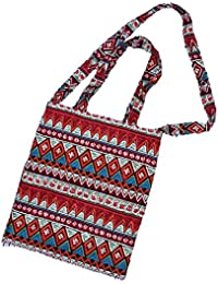 AlleGt Women Fashion Handbag - Folk Red