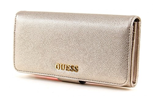 GUESS-Isabeau-File-Clutch-Silver