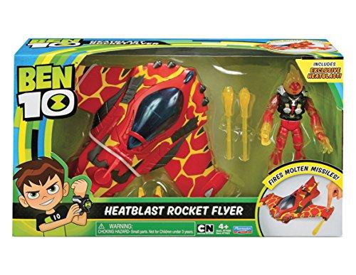 Ben 10ben20101Heat Blast Rocket Flyer Alien Fahrzeug