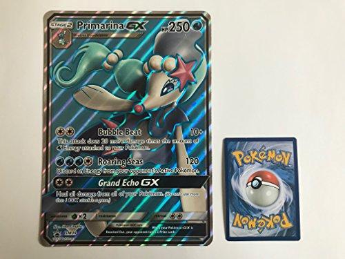 übergroße holografische Karte PRIMARINA GX (Primarene) SM39 (Neue Pokemon Karten Ex Mega)