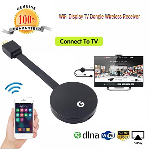 HKFV Wifi Display HDMI 1080P TV Dongle Empfänger passt Smartphone Laptop TV LX E68HDMI Bildschirm mit Airplay Push Bao Wifi Display E68 Dongle Display
