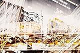 Pixblick - Collage von Berlin - Hochwertiges Wandbild - Acrylglas 150 x 100 cm