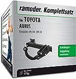 Rameder Komplettsatz, Anhängerkupplung abnehmbar + pol Elektrik für Toyota AURIS (138272-06226-1)