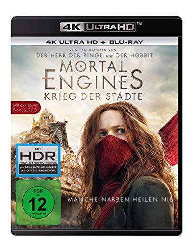 Mortal Engines: Krieg der Städte (4K Ultra HD) (+ Blu-ray...