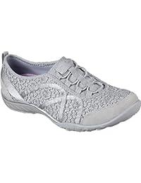 new style a1fcb 916ef Skechers Breathe-Easy-Sweet Darling, Sneakers Basses Femme
