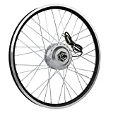 """AFTERPARTZ® e-bici Bicicletta elettrica Kit di conversione Frontmotor con Display LCD 36V 250W (24"""")"""