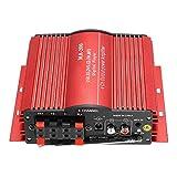 KKmoon MA200 4 Canaux HiFi Audio Amplificateur Stéréo Subwoofer Voiture MP3 Haut-parleur USB SD FM
