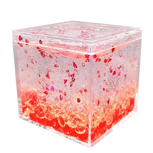 [120 ml Kristall Traumfarbe Perlglanz Schleim] Kitt Duft Stress Kinder Ton Spielzeug,Flauschige Schleim,Knete Bunt Set, Kinderspielzeug Kinderknete (E) -